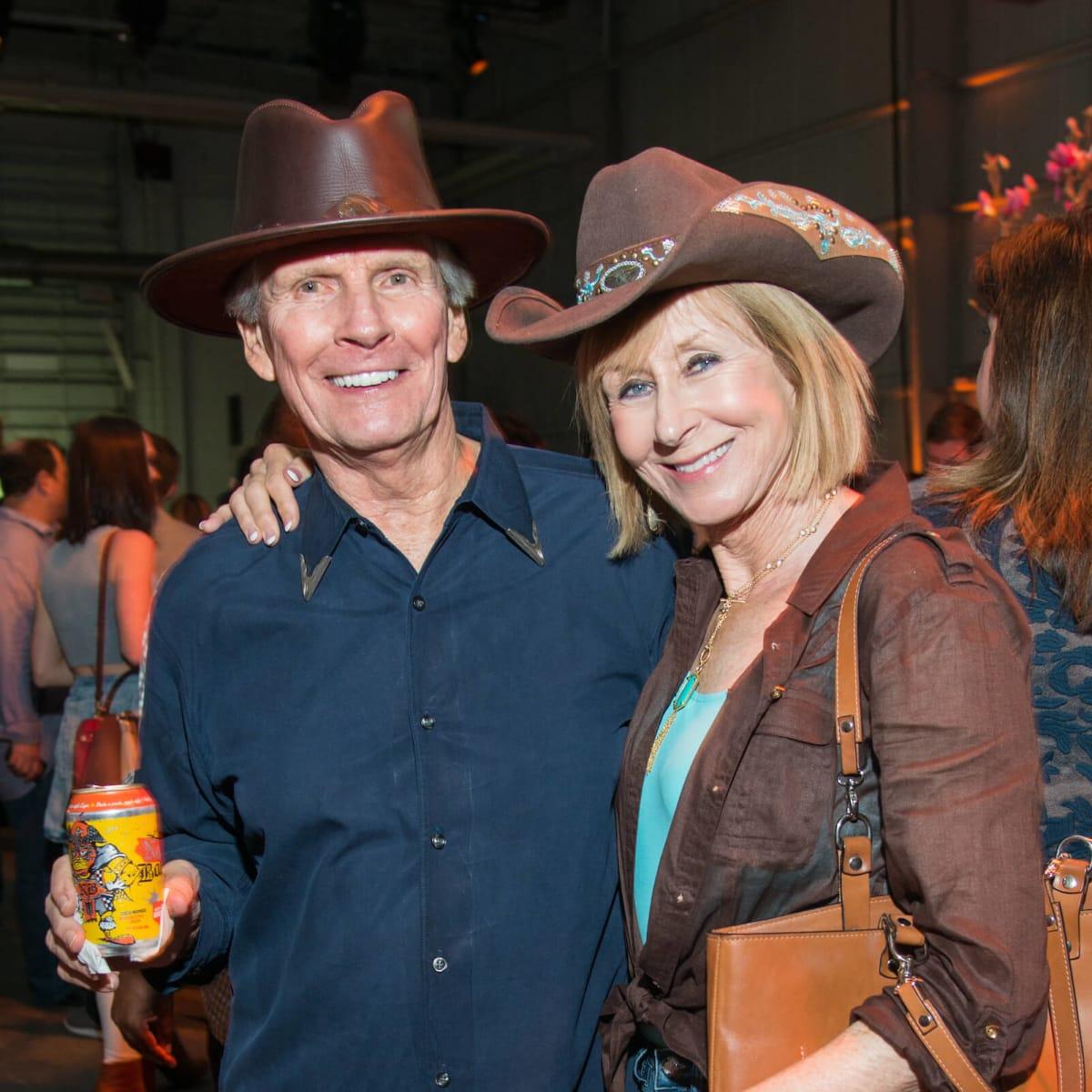 John Egan, Cherry Whitley at Big Texas Party