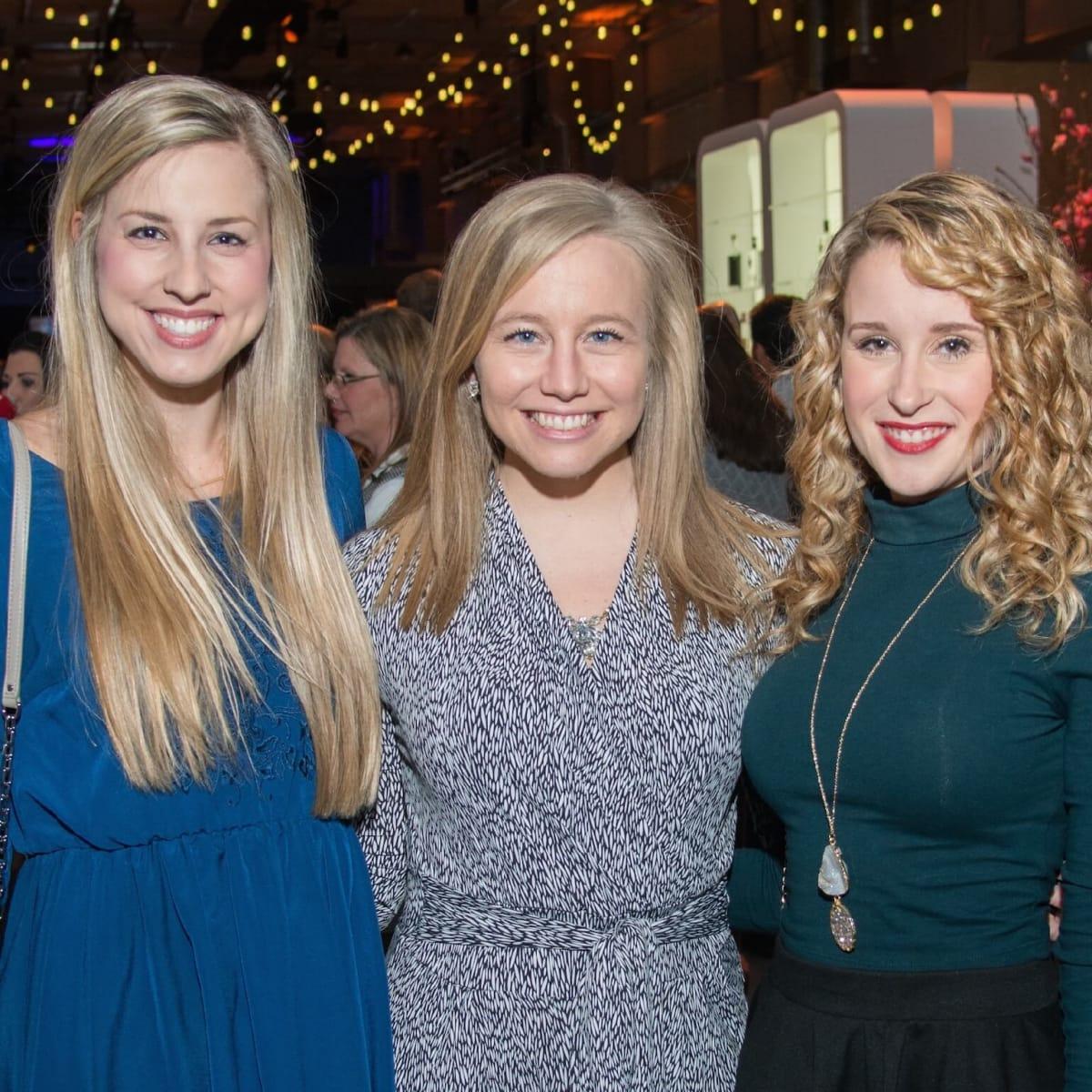 Erin Fidde, Taryn McCoy, Cassie Hull at Big Texas Party