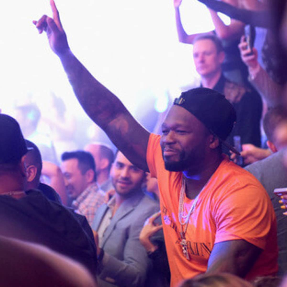 "Houston, Playboy and Tao Super Bowl Party, Jan 2017, Curtis ""50 Cent"" Jackson"
