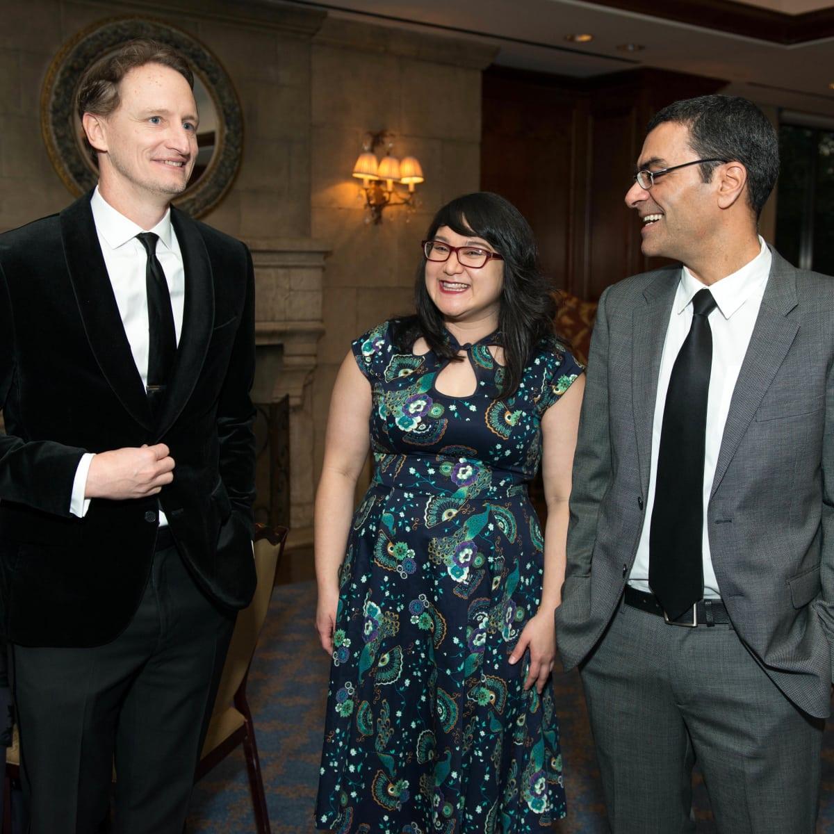 Inprint Poets & Writers Gala 2017:J. Bradford Hipps, Janine Joseph, Hayan Charara