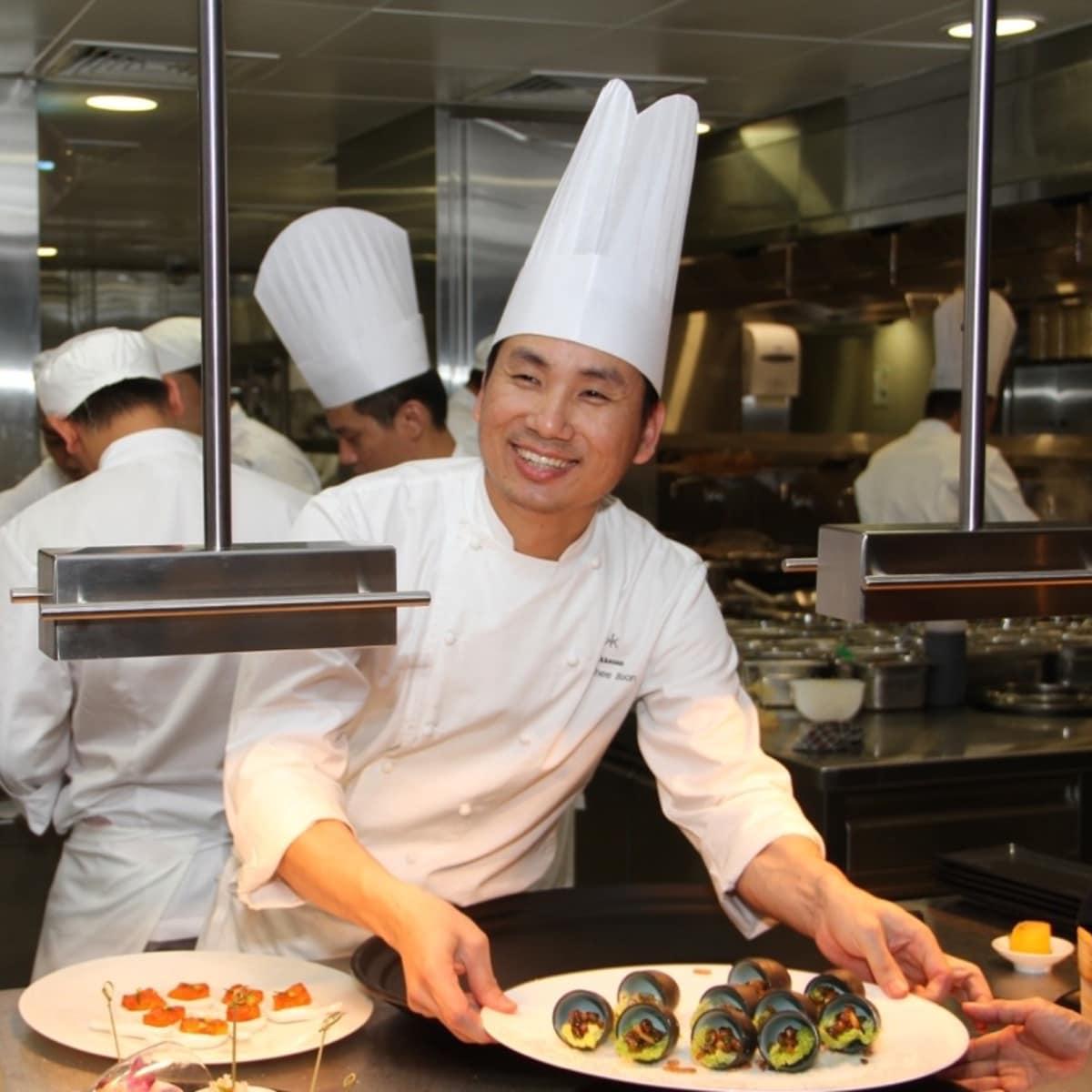 Yauatcha chef Ho Chee Boon