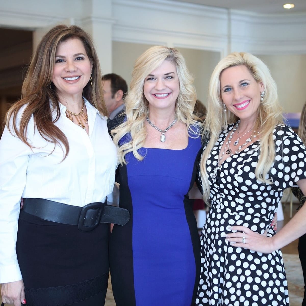 ChildBuilders luncheon  Dallas Rowden, Tammie Johnson, Tracy Faulkner