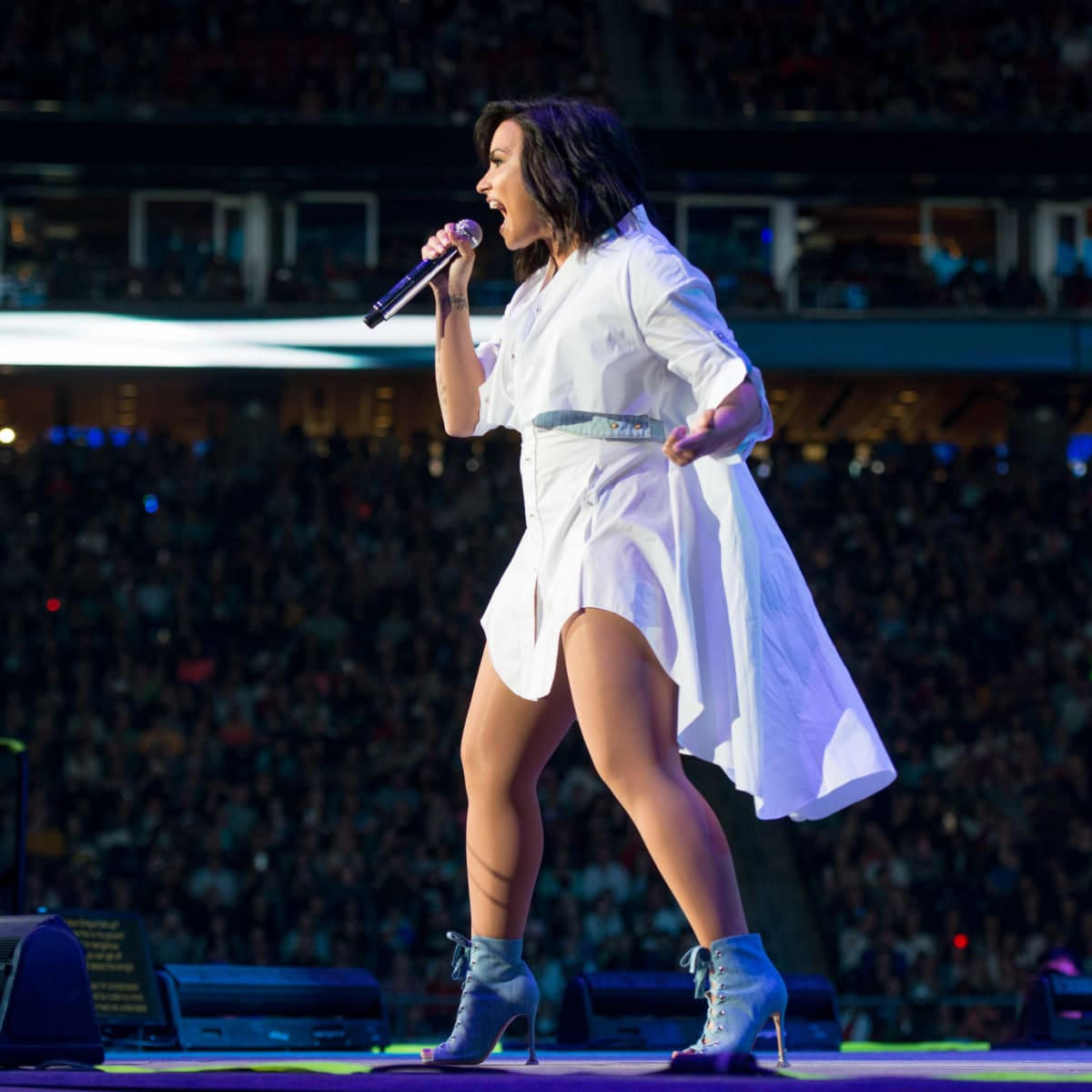 Demi Lovato Houston Rodeo 2017