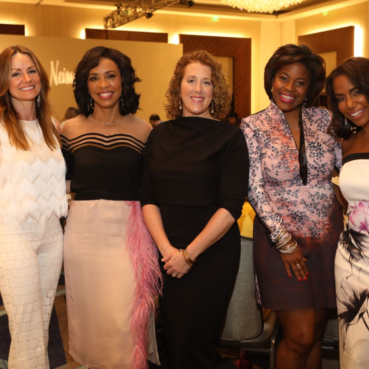 Best Dressed Luncheon 2017, Lucinda Loya, Gina Gasto Elie, Shelly Hendry, Kafi Slaughter,Tiffany Smith