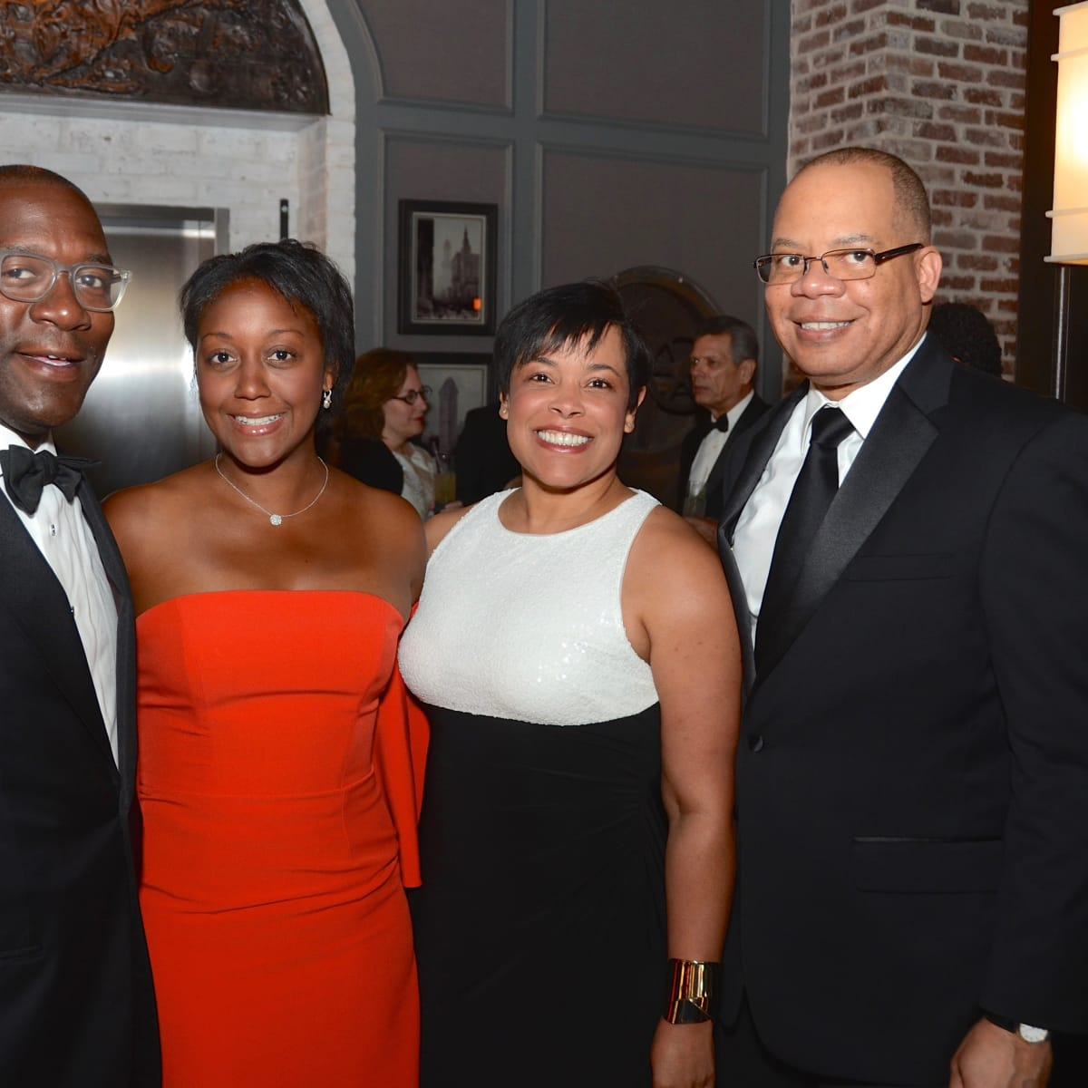 Garfield Johnson, Jakeen Johnson, Keisha Phillips. Felix Phillips at 2017 Da Camera Gala