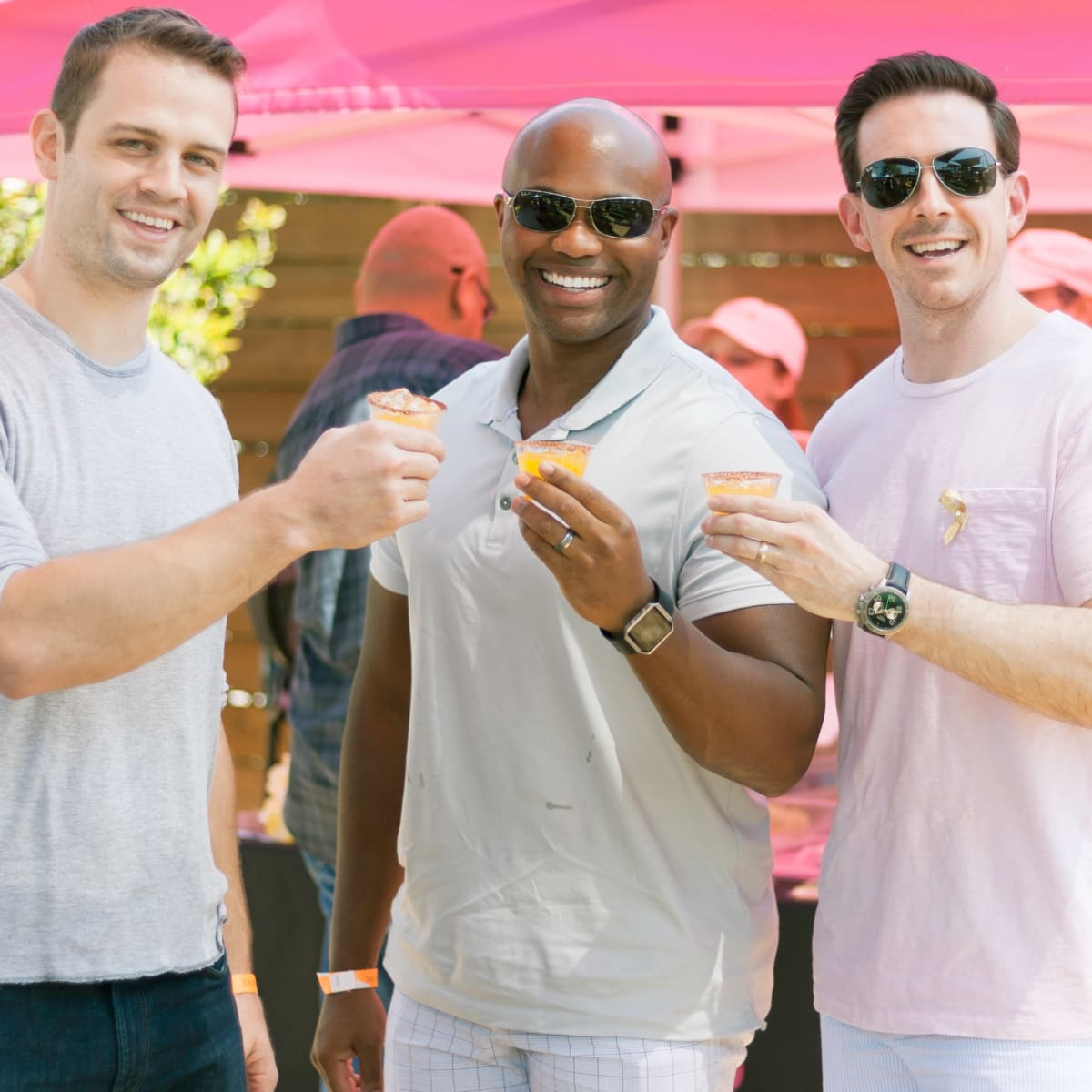 Margarita Taste-off, Jeff Tarpinian, Bryce Beverly, Mike Smith