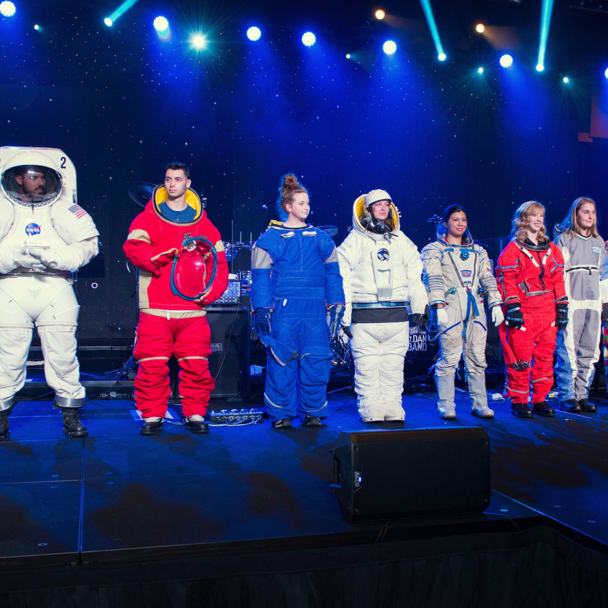 Houston, Space Center Houston Galaxy Gala, April 2017, spacesuit collection fashion show