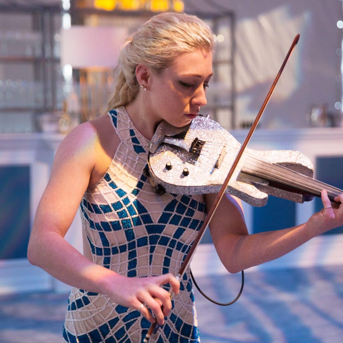Violinist at Dallas Art Ball 2017