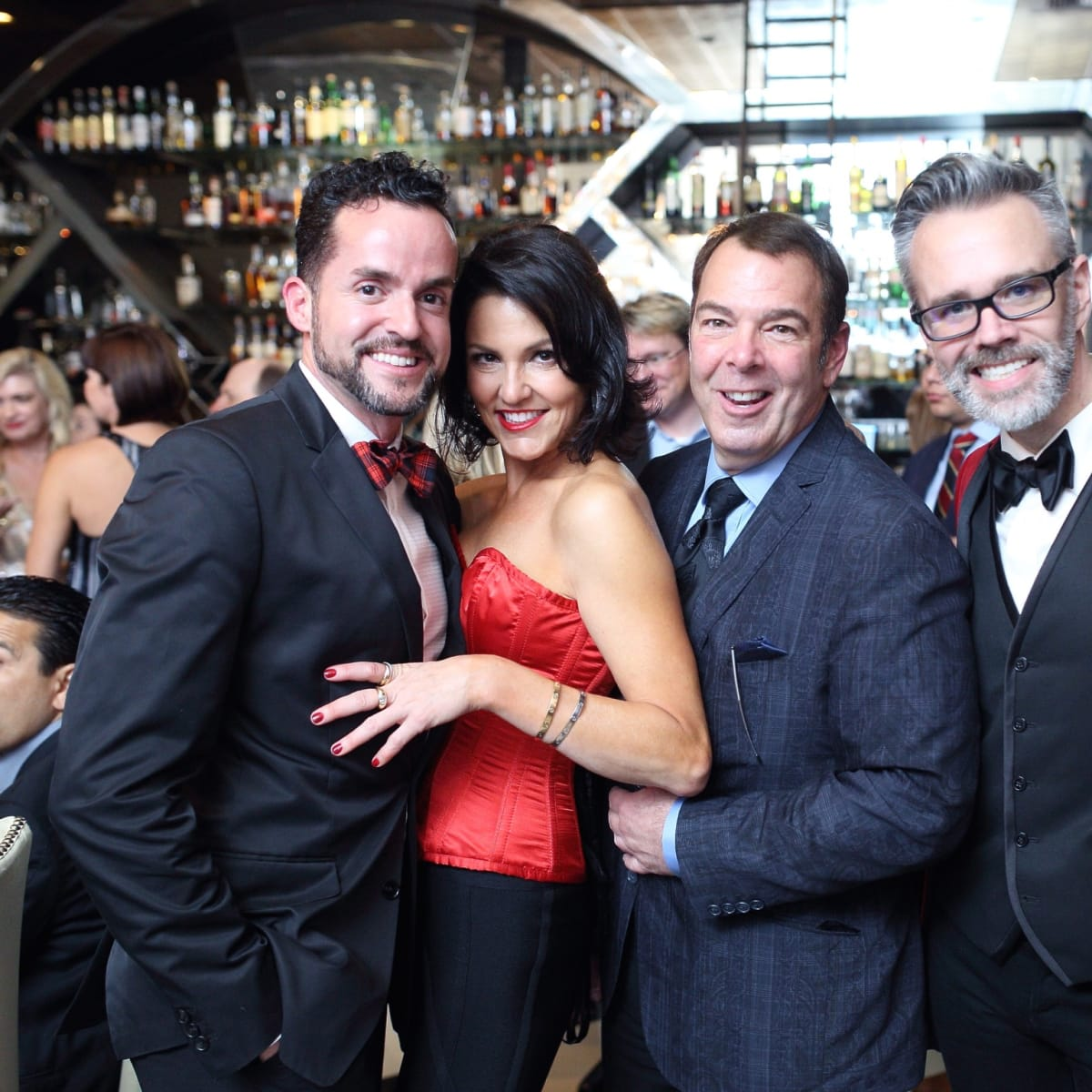 Dining Out for Life Fritz McDonald, Jessica Rossman, Peter Martino, Michael Pearce