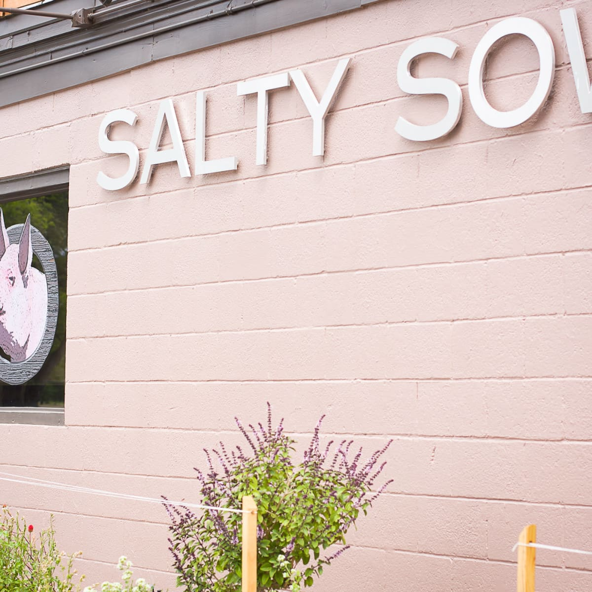 Salty Sow Exterior