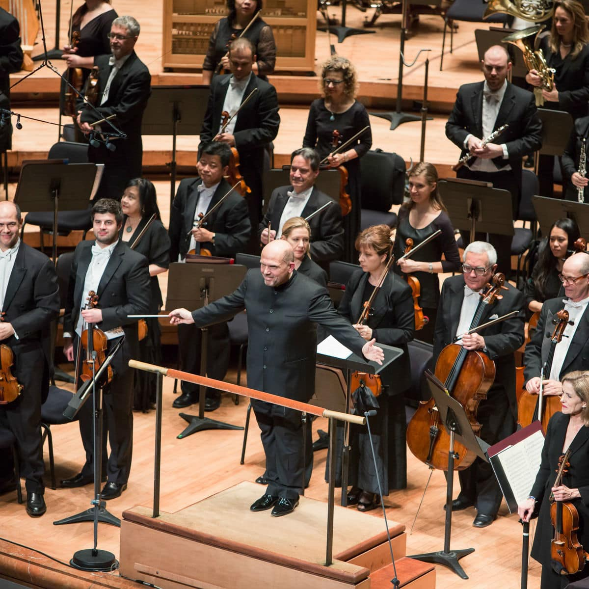 Jaap van Zweden and Dallas Symphony Orchestra