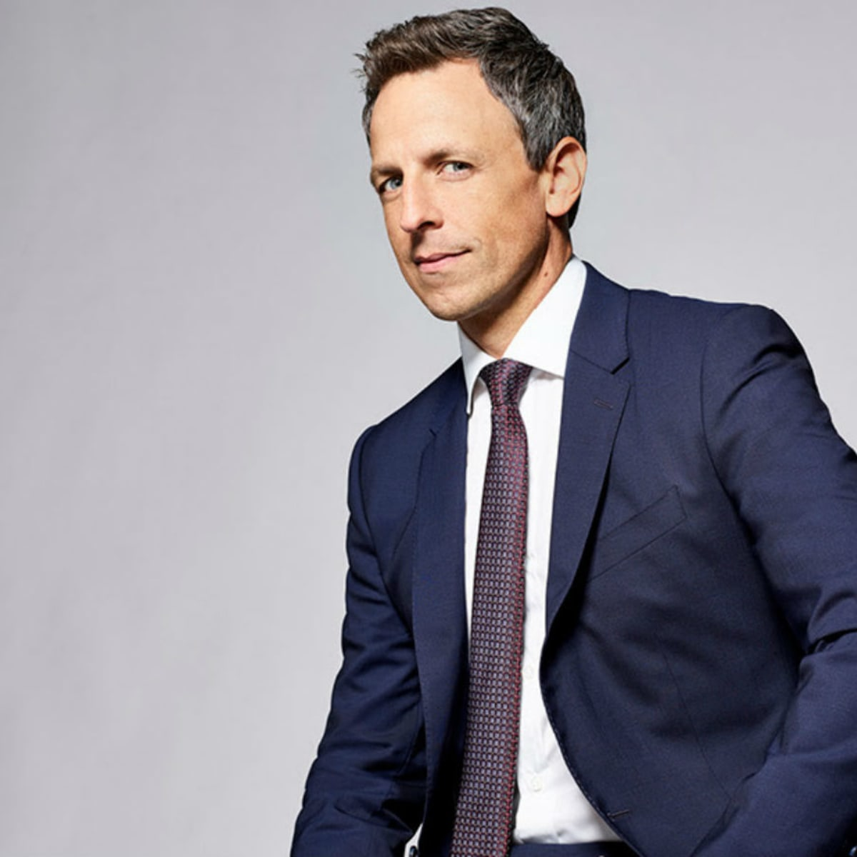late night tv host Seth Meyers