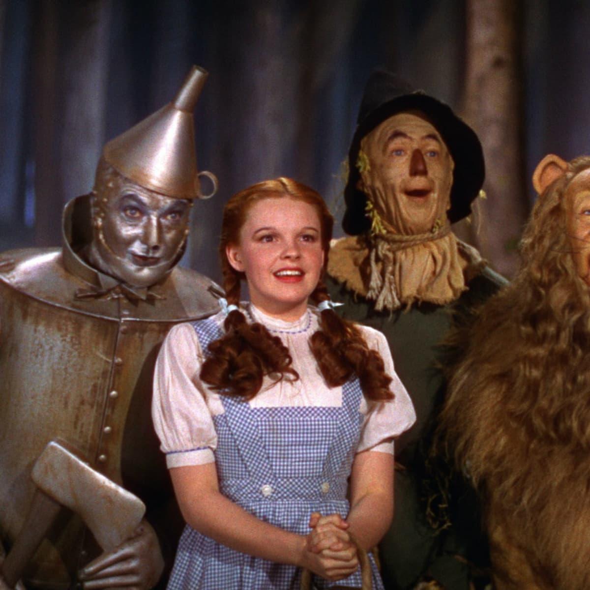 cast of Wizard of Oz film