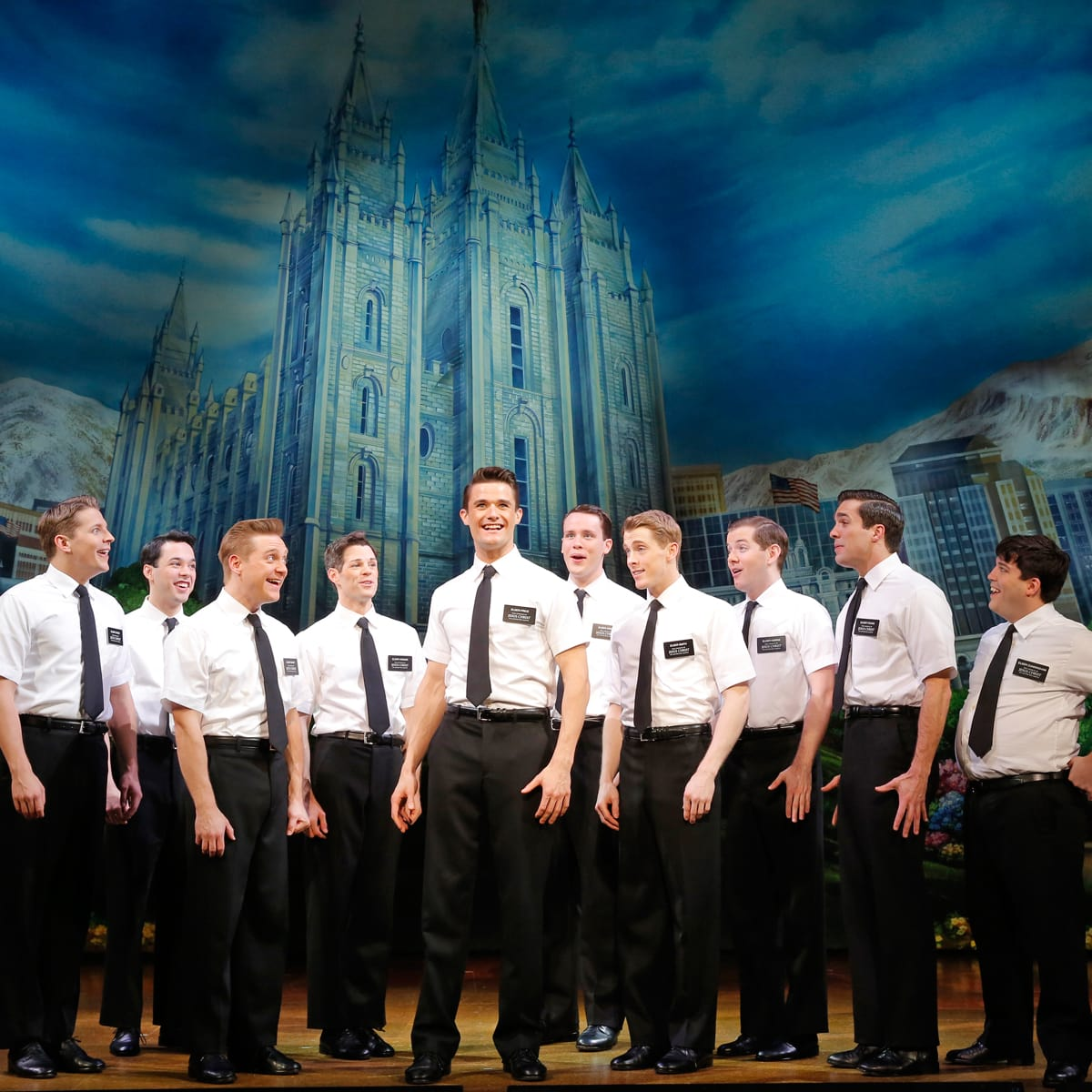 Gexa Energy Broadway at the Hobby Center series January 2014 The Book of Mormon First National Tour