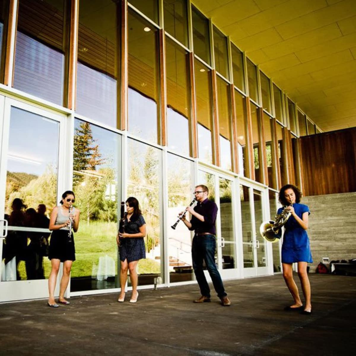 Nancy, Windsync, Garrett Hudson, Erin Tsai, Tracy Jacobson, Jack Marquardt, Anni Hochhalter at Jackson Hole Center for the Arts