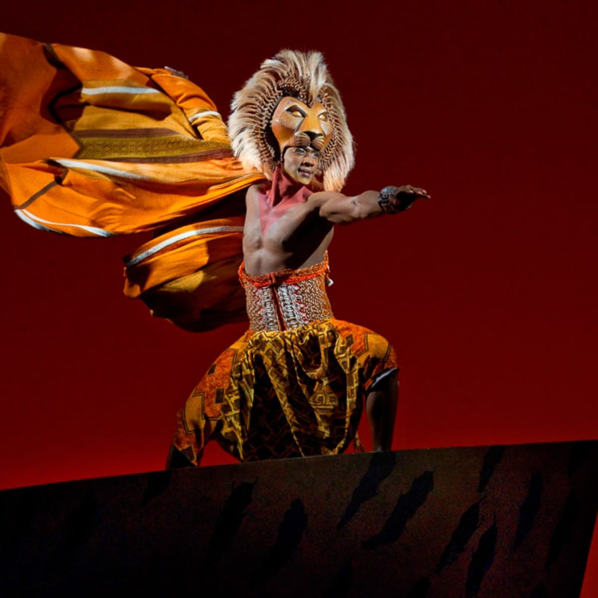 "Nancy, Lion King, Jelani Remy as ""Simba"" from THE LION KING National Tour"