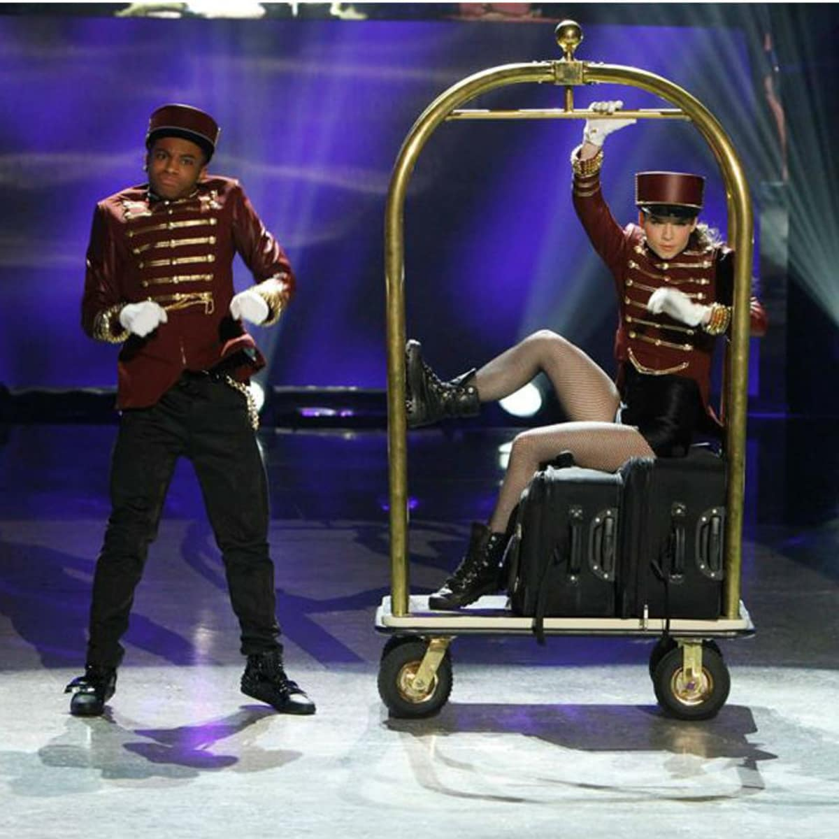 Fik-Shun and Amy from So You Think You Can Dance