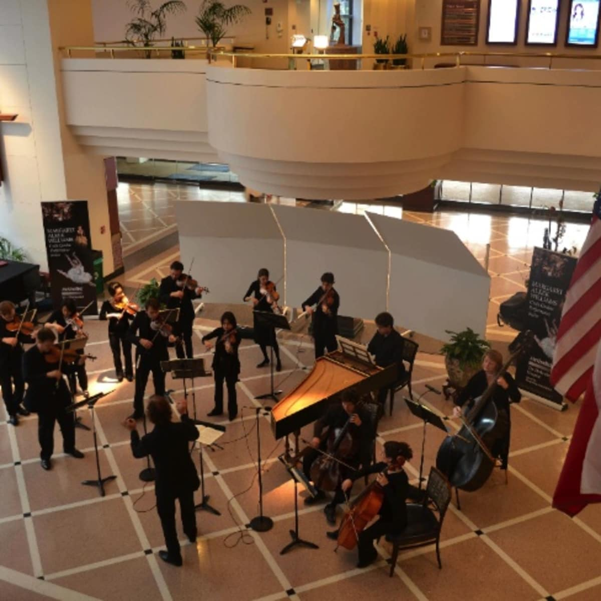 Margaret Alkek Williams Crain Garden Performance Series at Houston Methodist Hospital presents Mercury - The Orchestra Redefined