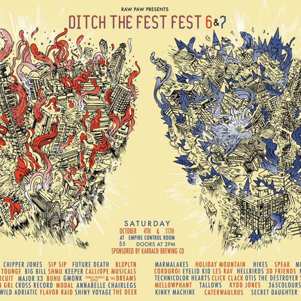 Ditch the Fest Fest 6 and 7