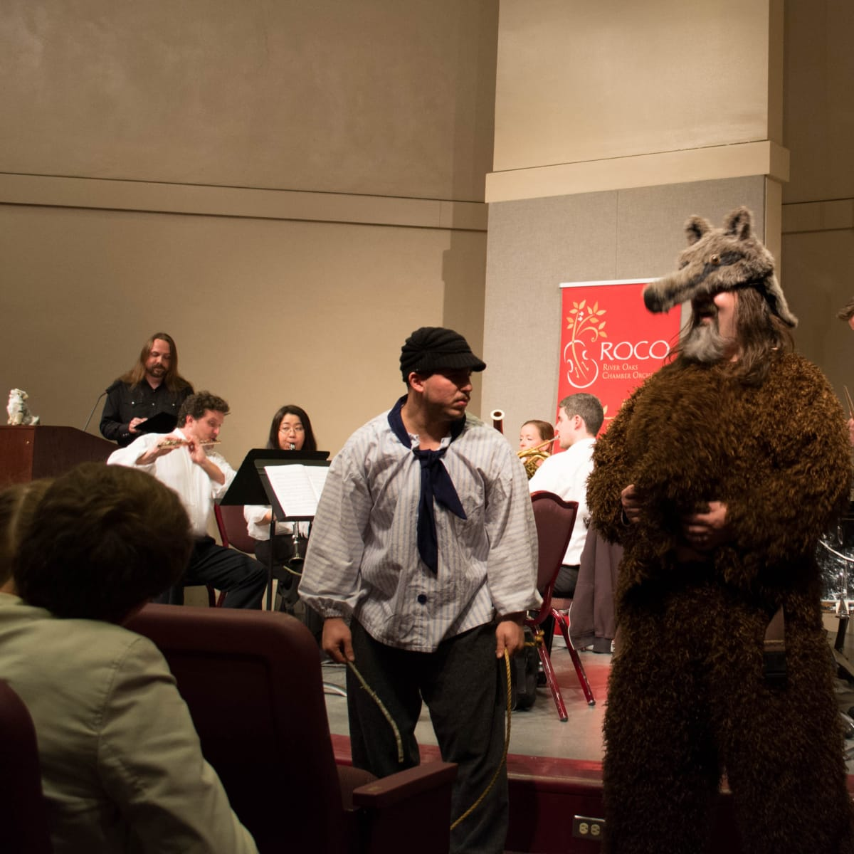 River Oaks Chamber Orchestra and InterActive Theater Company present Peter and the Wolf