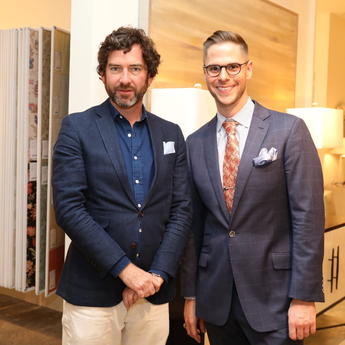 David Netto, Ben Johnston at Decorative Center Spring Market
