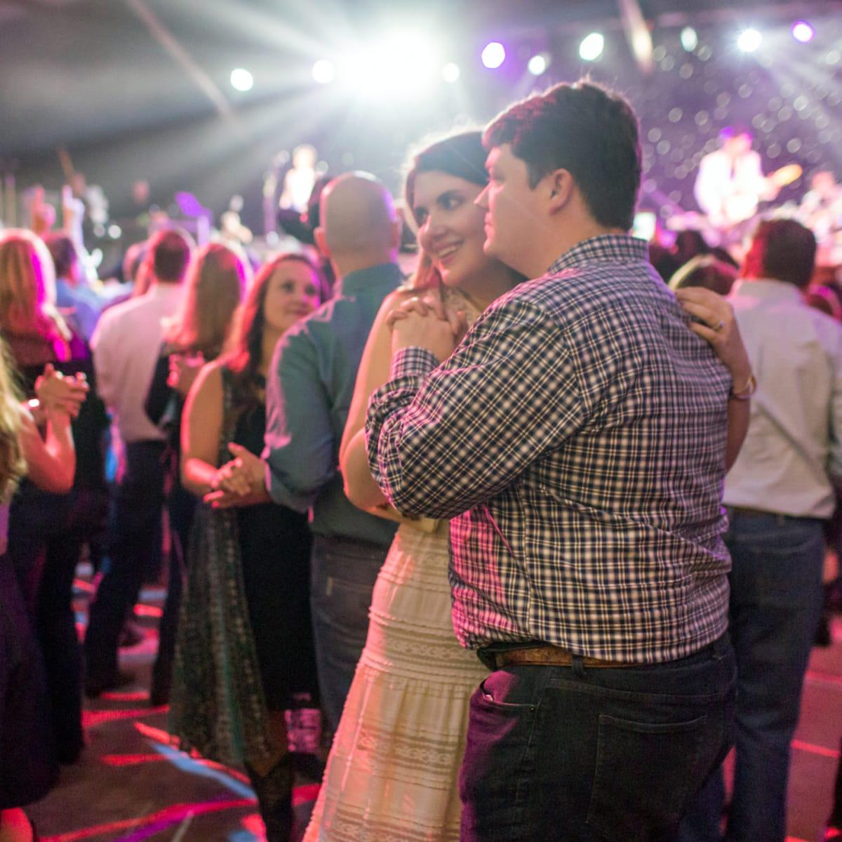 Houston, Cattle Barron's Ball, May 2017, dance floor