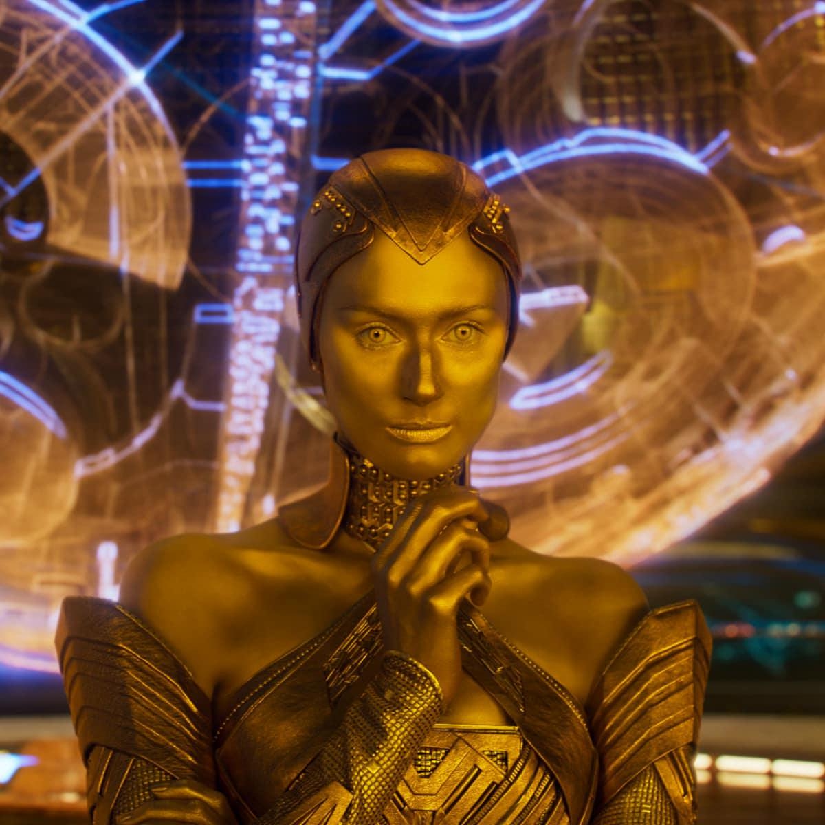Elizabeth Debicki in Guardians of the Galaxy, Vol. 2