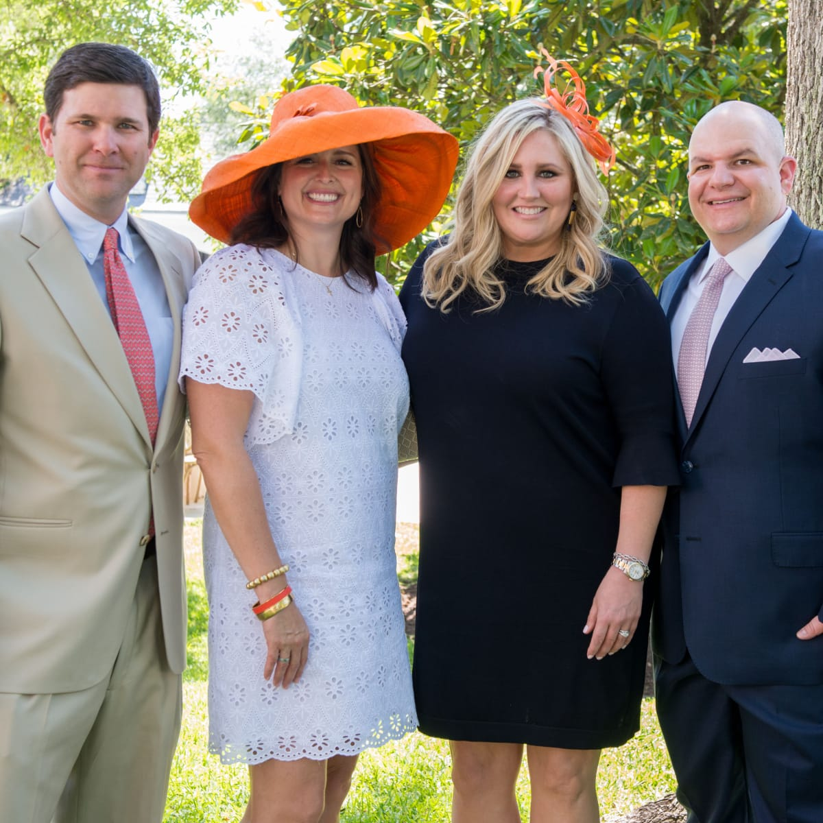 Houston, Hats, Hearts & Horseshoes benefiting Bo's Place 2017, May 2017, Charlie Neuhaus, Susan Neuhaus, Meredith Chastang, Patrick Chastang