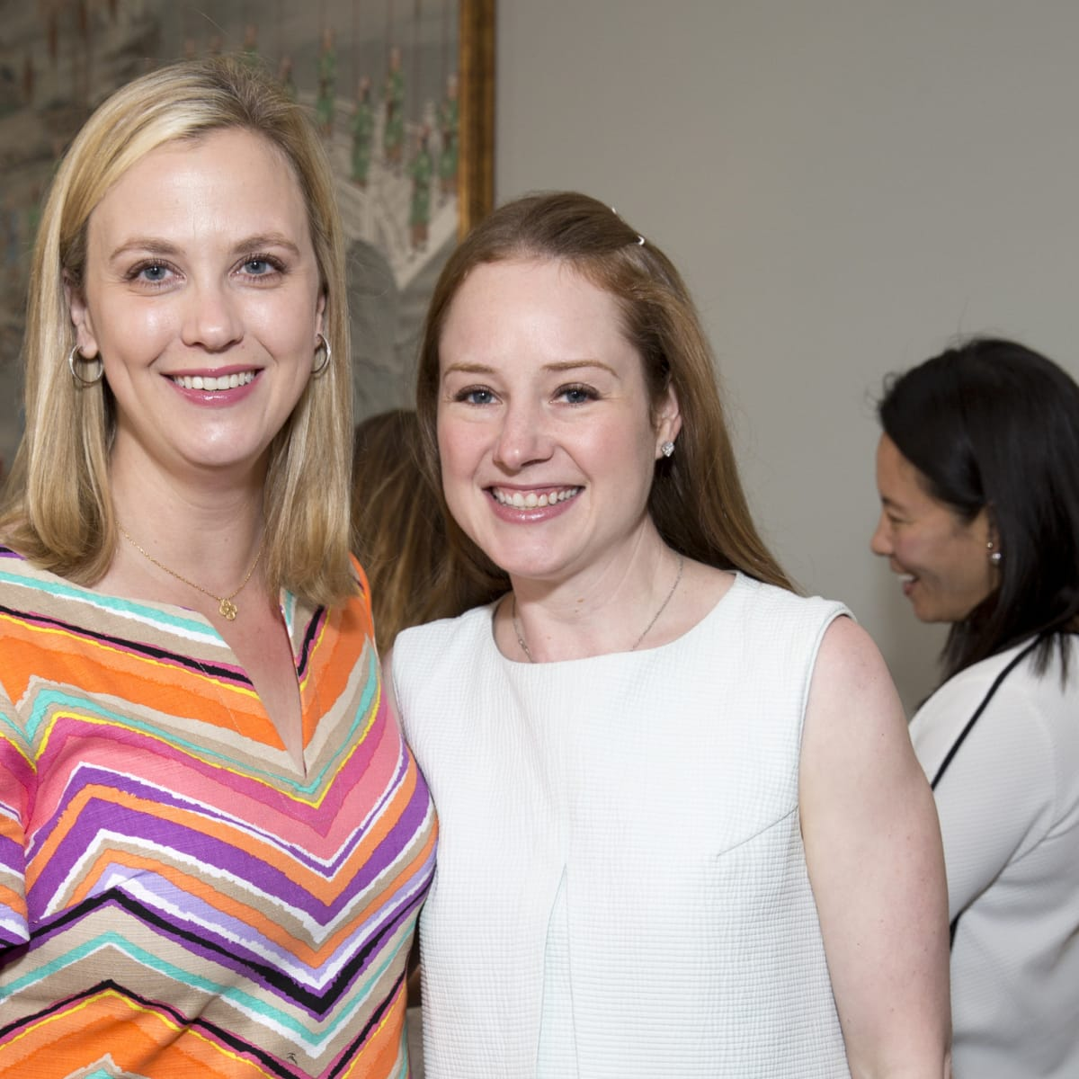 Houston, Spaulding for Children luncheon, May 2017, Blair Loocke, Amy Beeson
