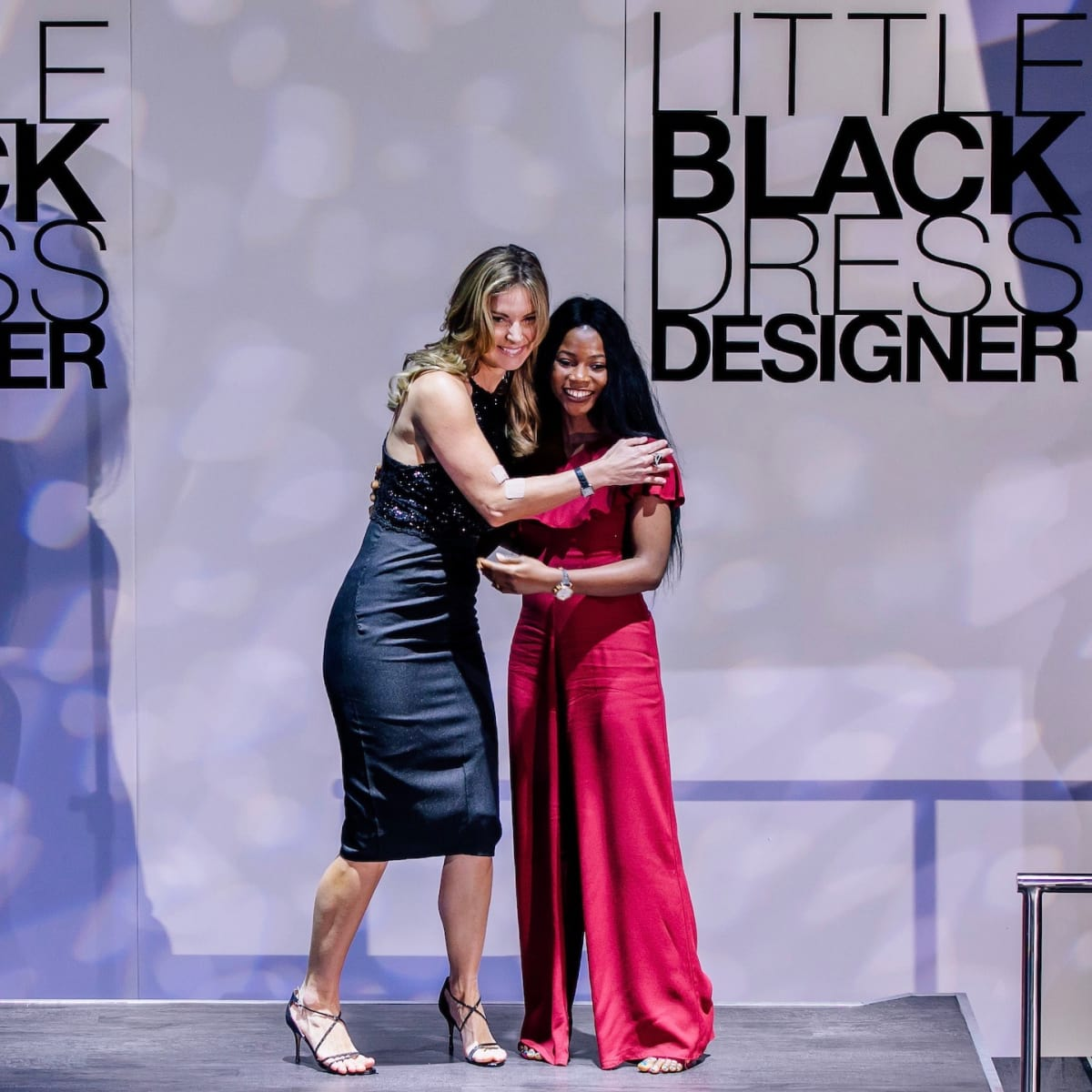 Romy Mitchell, Toyin Talabi at Little Black Dress Designer 2017