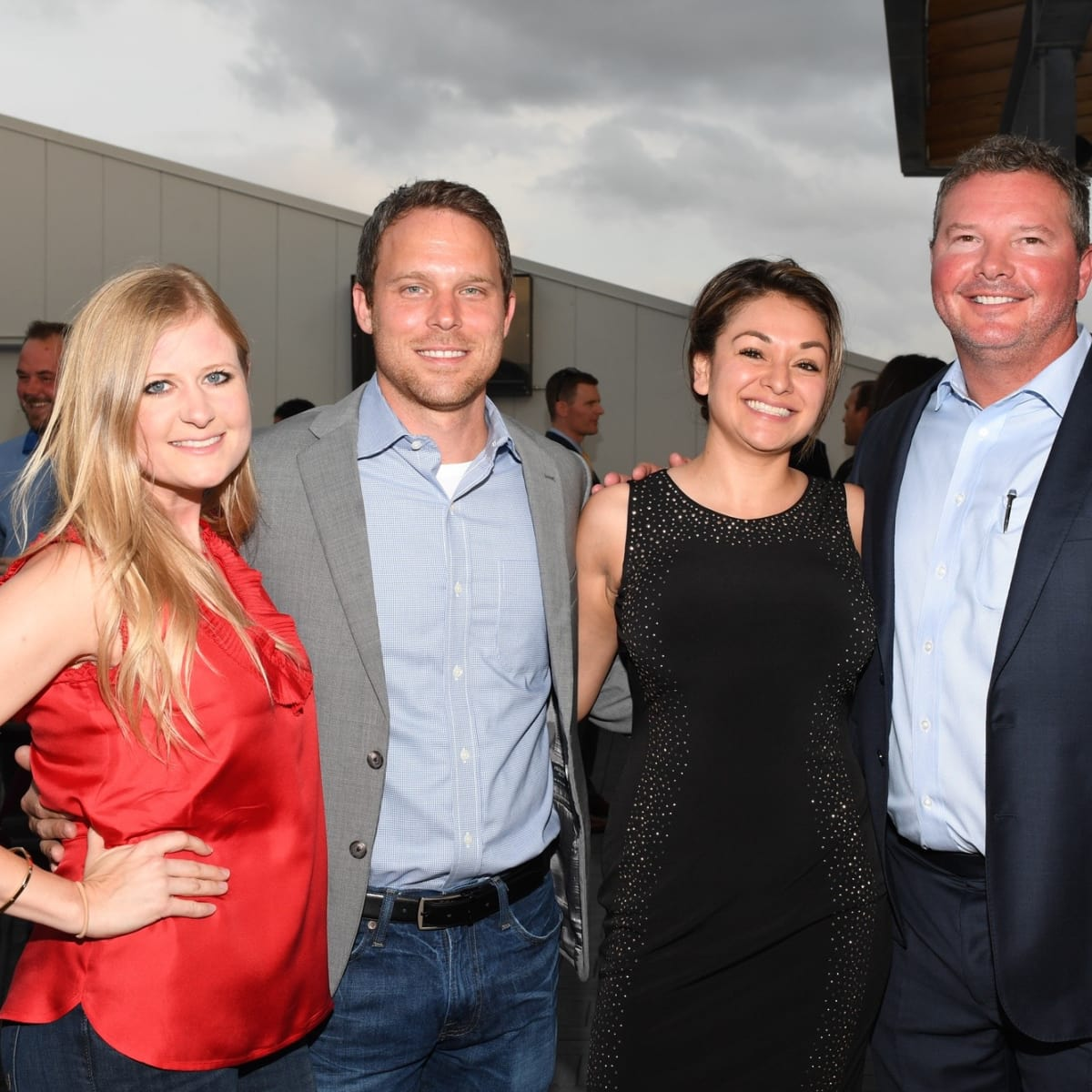 Mellisa Williams, Matt Murphy, Tina Mata, Mark Latham at Barbara Bush Foundation gala kickoff