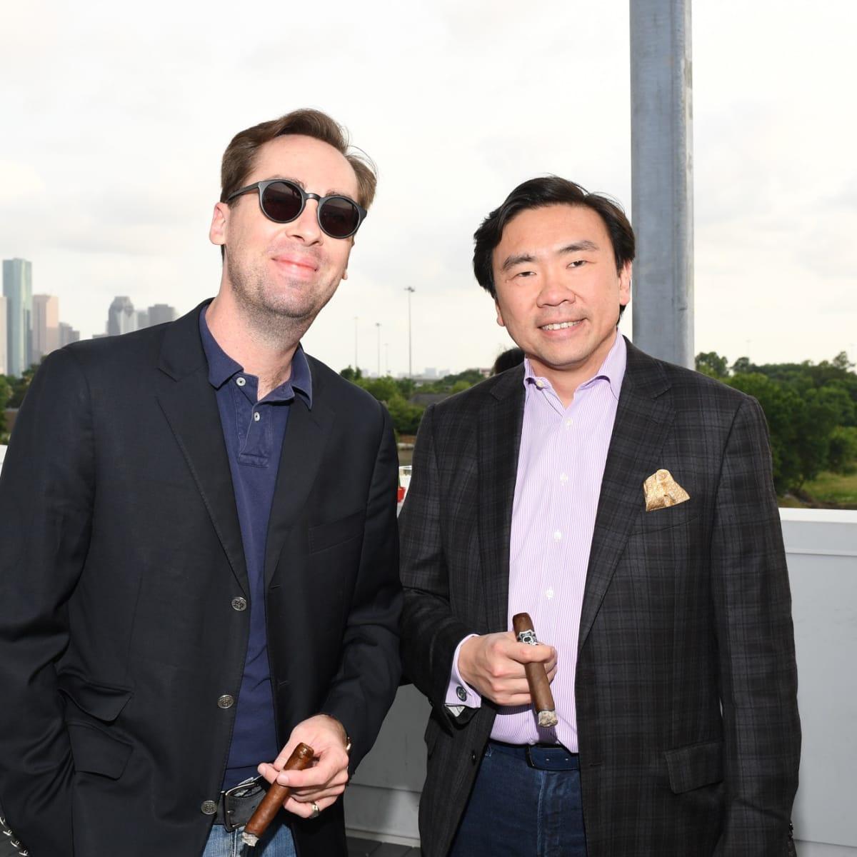 JW Wintersteen, John Nghiem at Barbara Bush Foundation gala kickoff