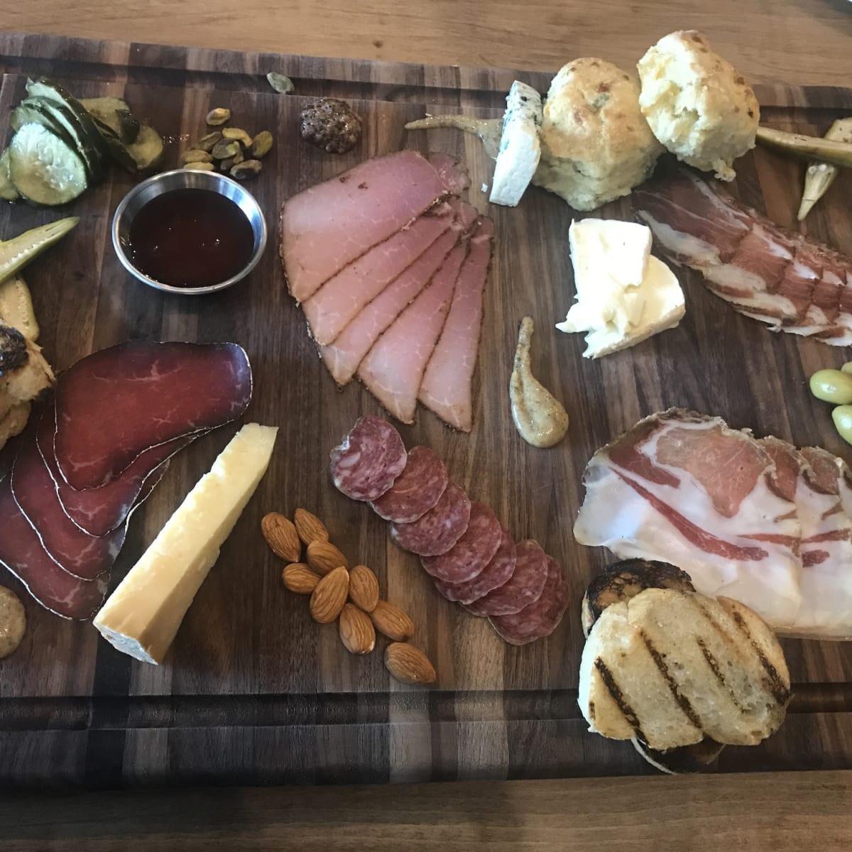 Bacon Bros charcuterie platter
