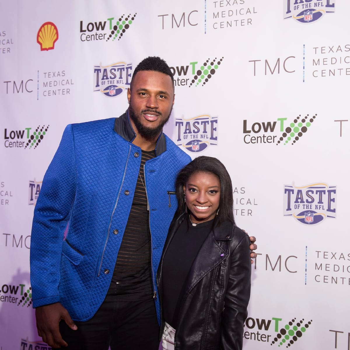 Taste of the NFL James Anderson Simone Biles