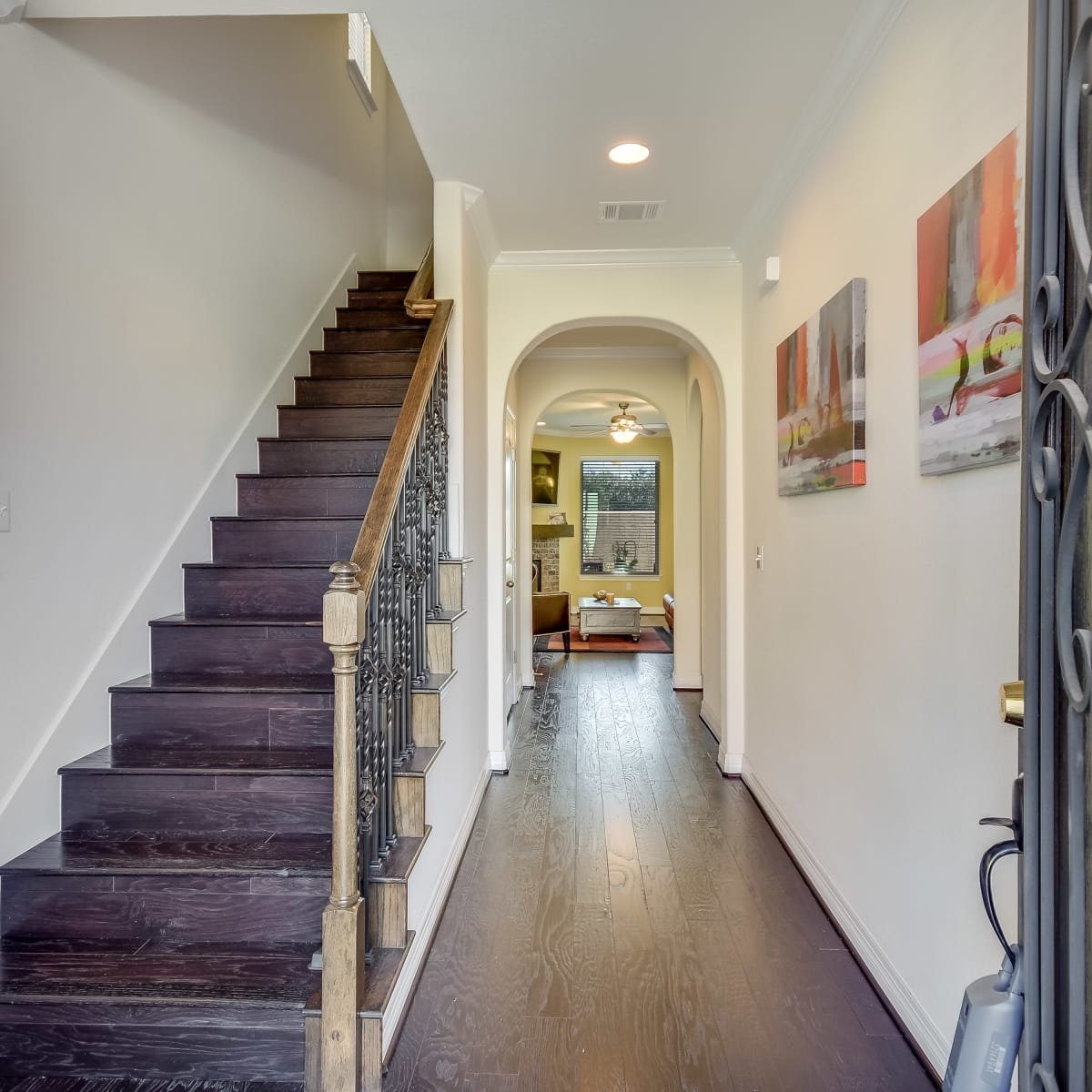 12312 Terraza Austin townhouse for sale foyer