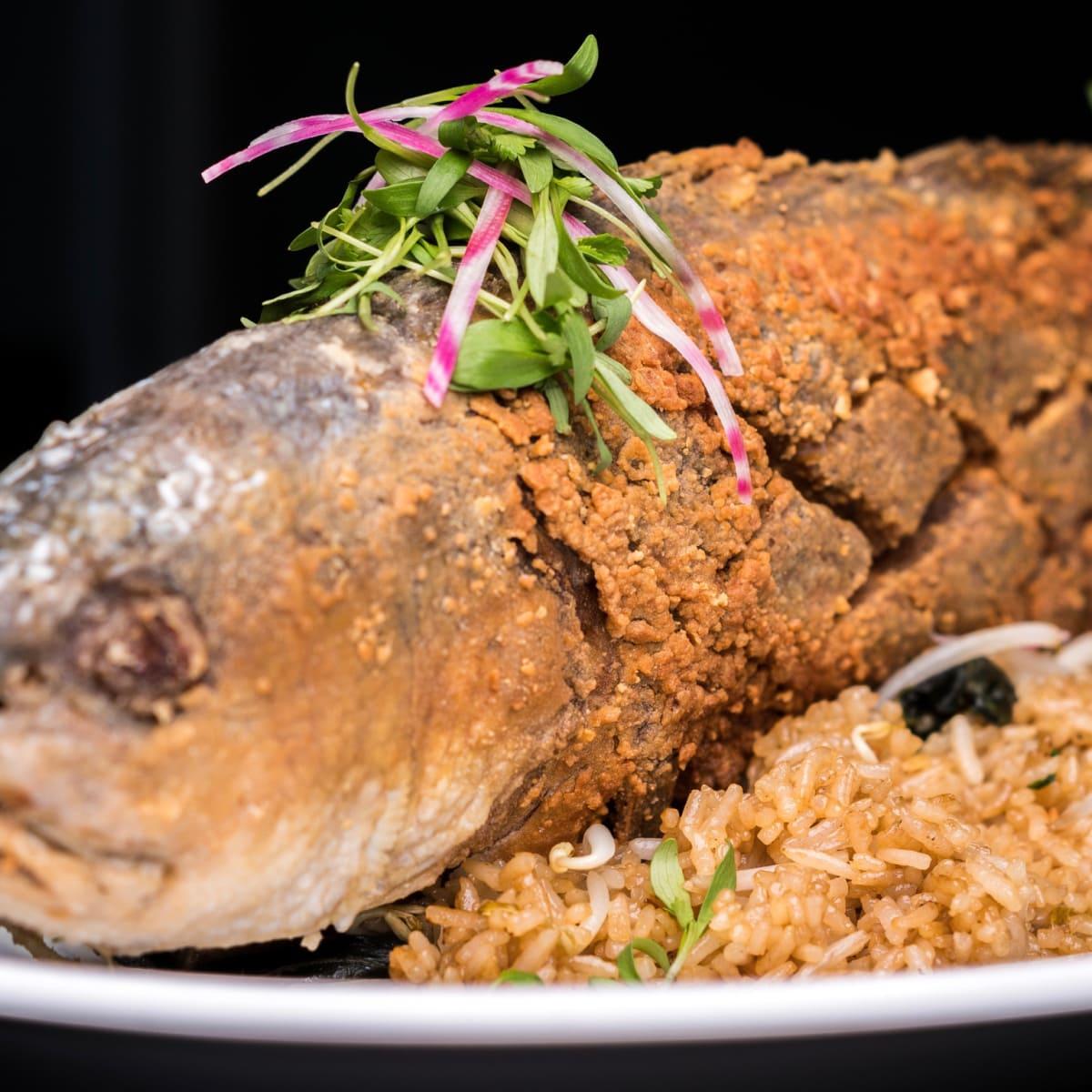 Kitchen 713 whole fried fish