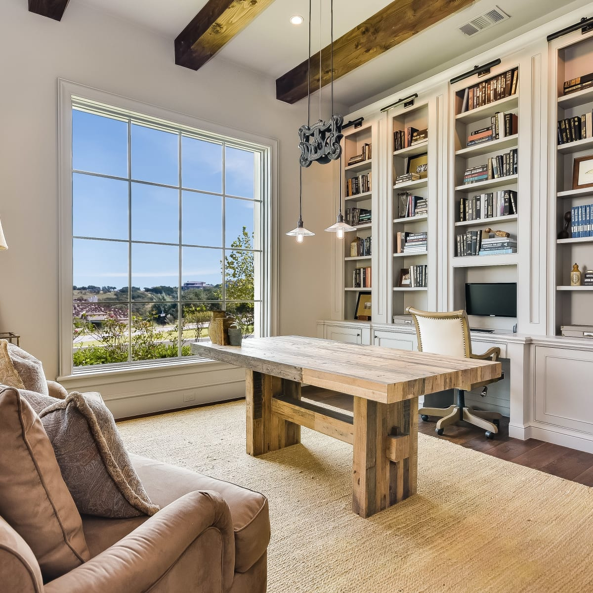 5709 Spanish Oaks Club Austin house for sale office