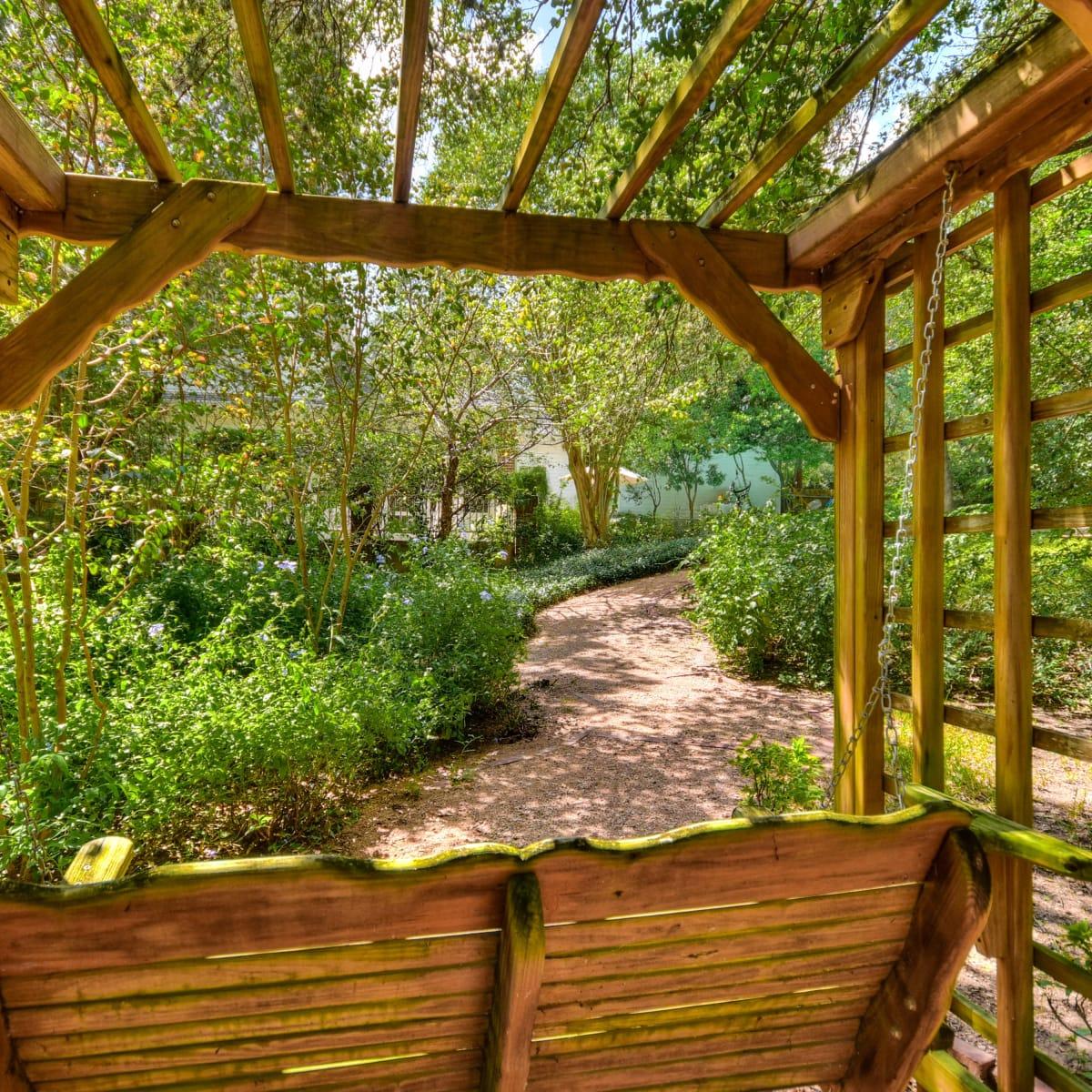 2400 Westlake Pass Austin house for sale backyard
