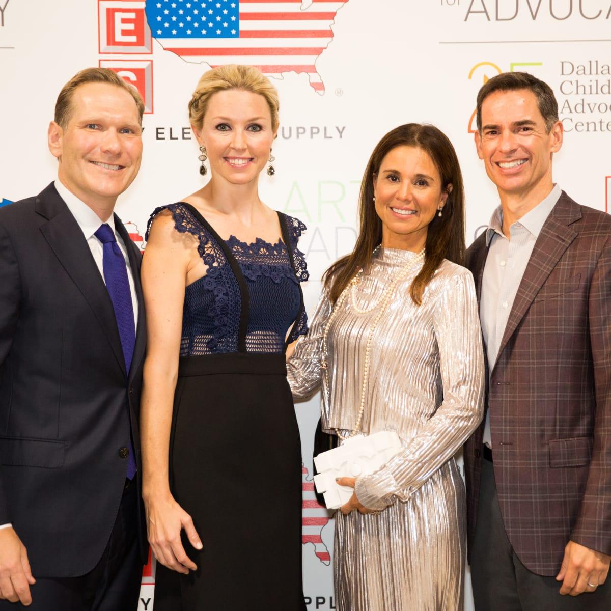 Steve and Julie Rado, Kim Wyly, Evan Wyly