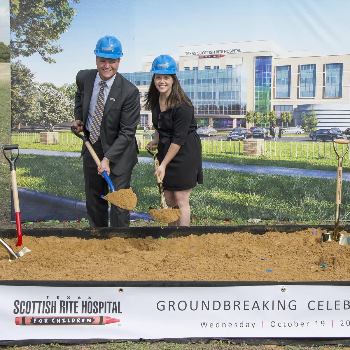 Texas Scottish Rite Hospital new Frisco building groundbreaking