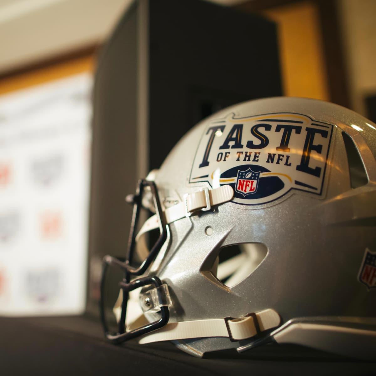 Taste of the NFL helmet