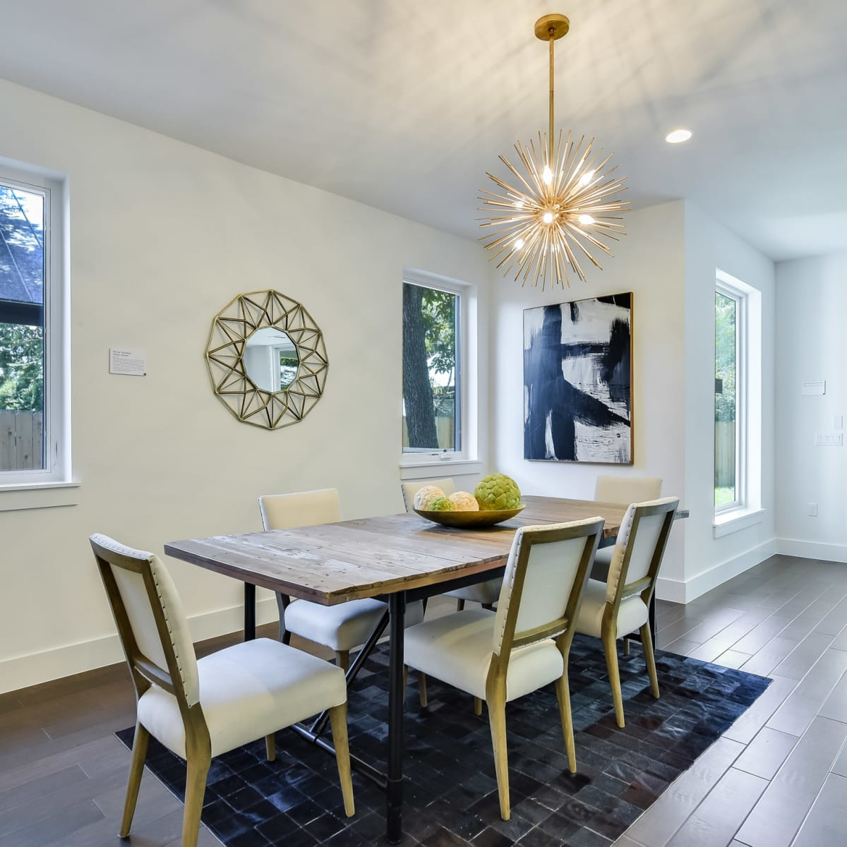 1613 Nash Ave Austin house for sale dining room