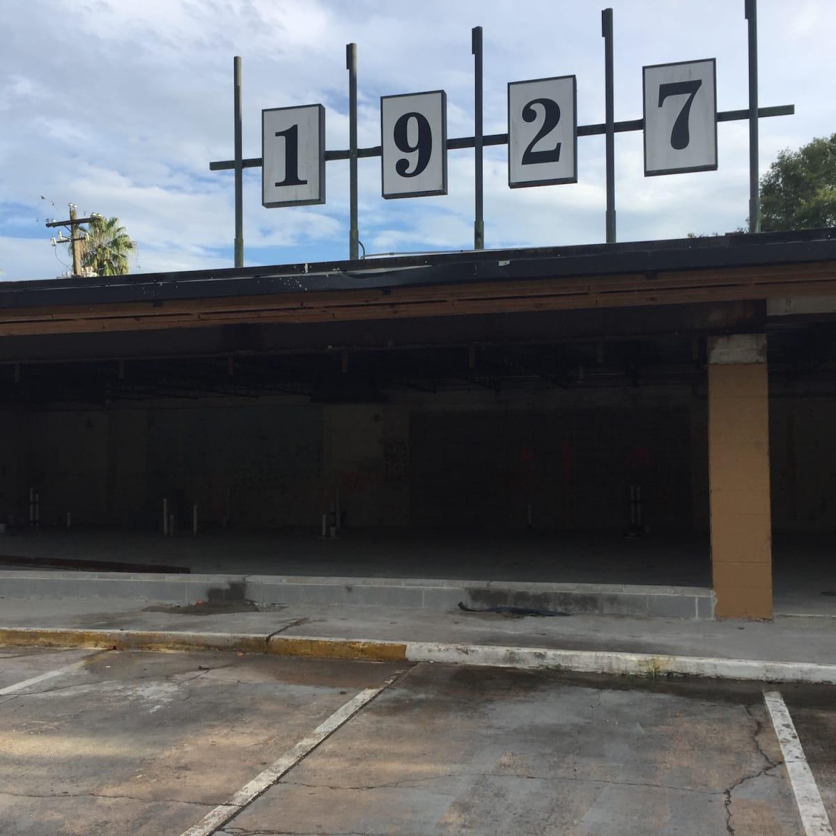 Riel Restaurant exterior shell