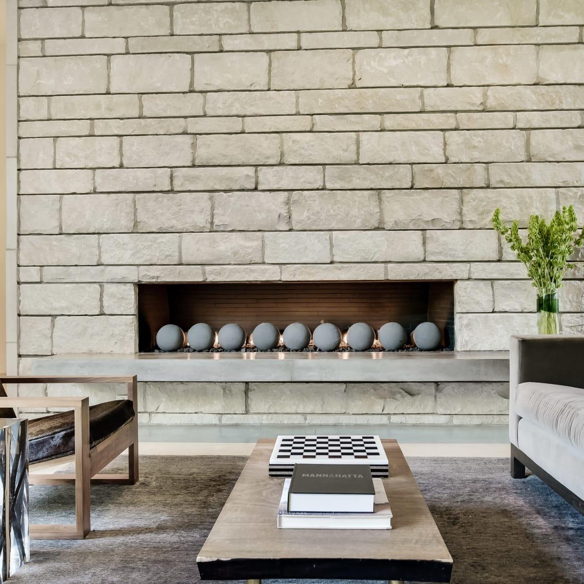 2009 Cueva de Oro Austin house for sale fireplace