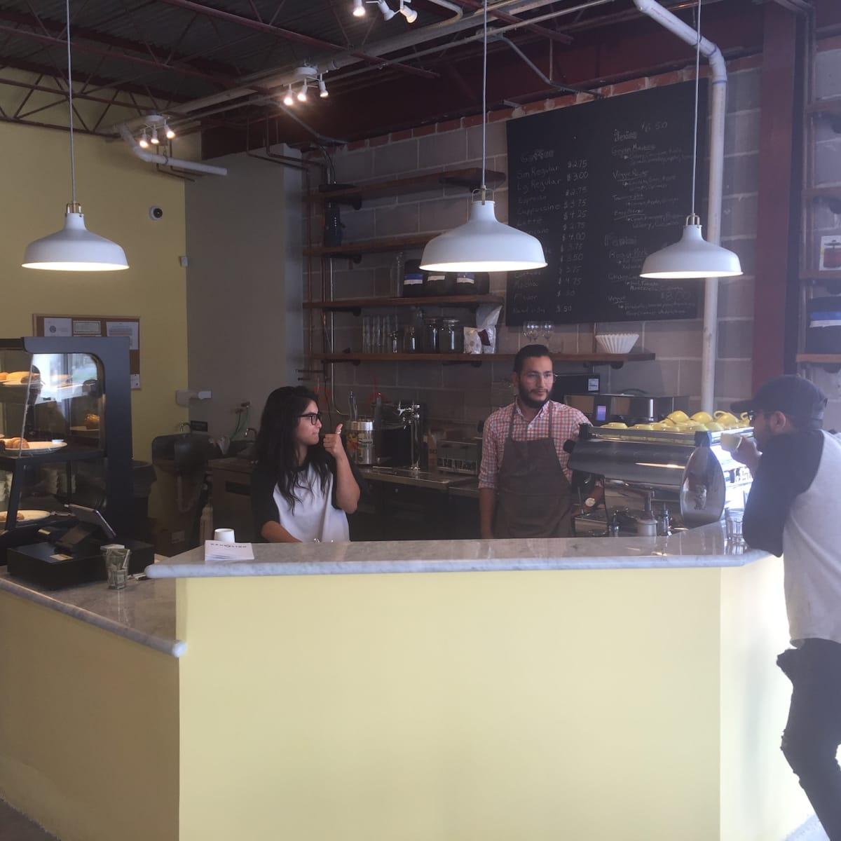 Dandelion Cafe interior