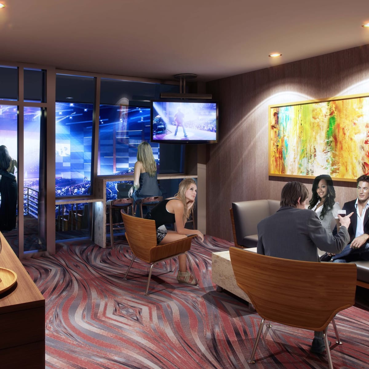 Smart Financial Center suite rendering