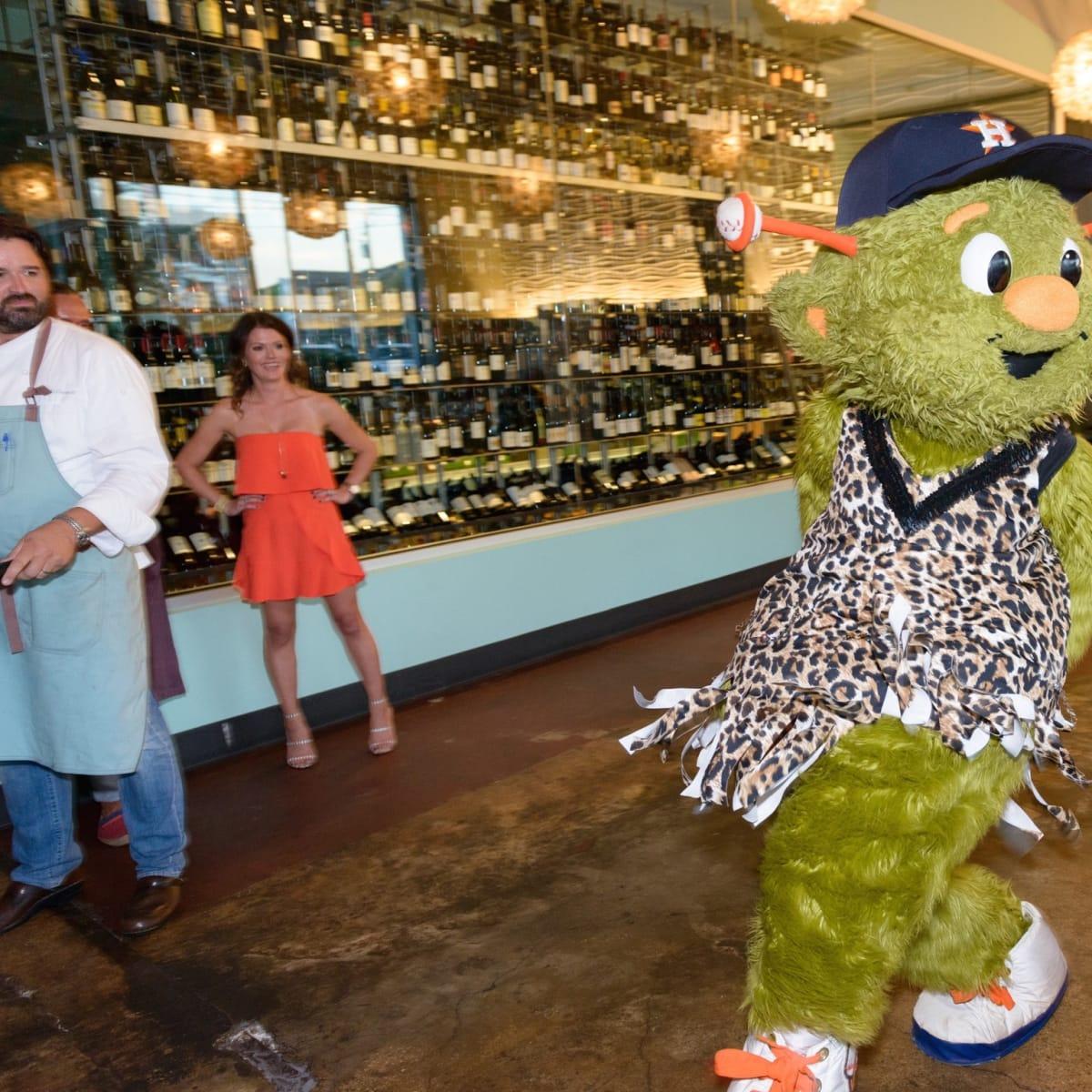Salty Supper Orbit Houston Astros dance