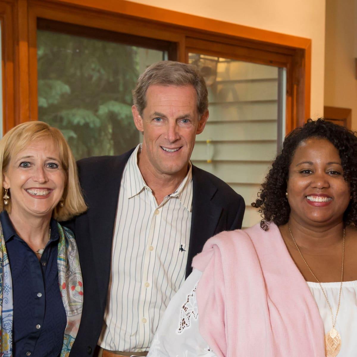 Houston PBS in Aspen, June 2016, Kim Sterling, David Sterling, Stephanie Carroll