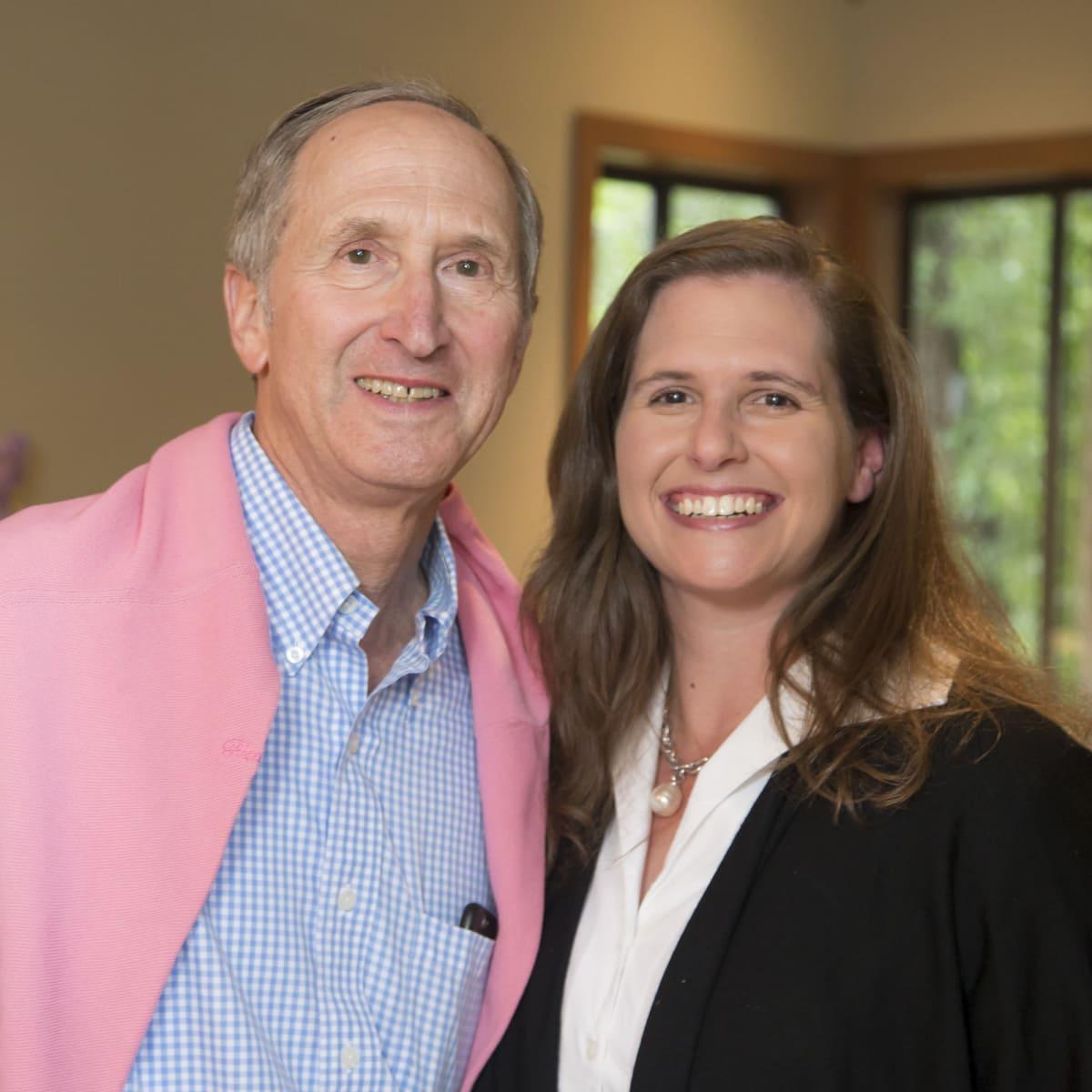 Houston PBS in Aspen, June 2016, John Orton, Betsy Orton