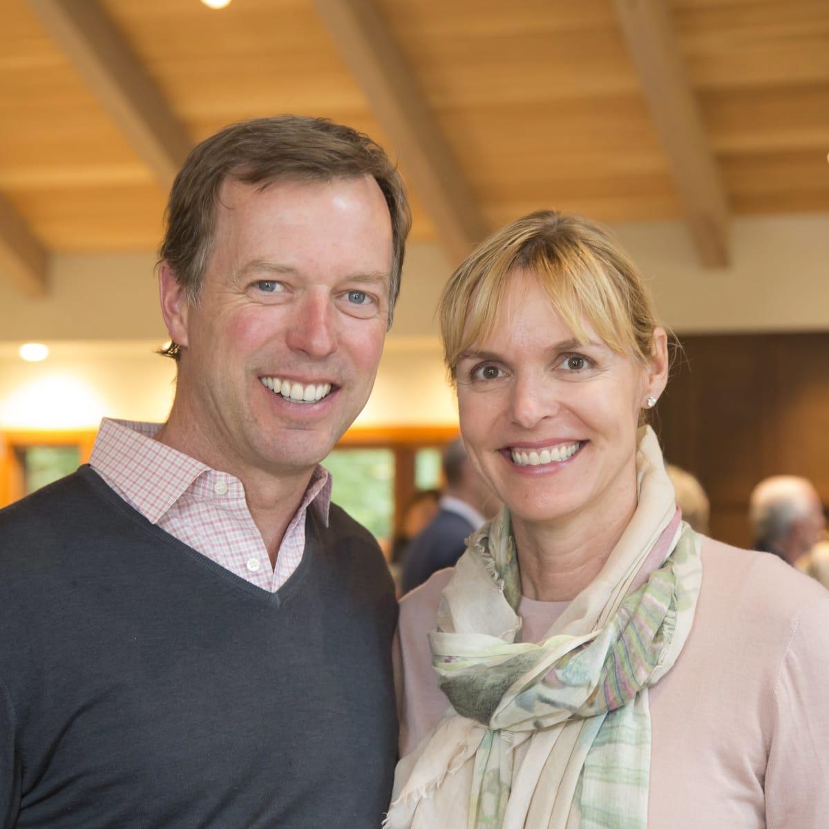 Houston PBS in Aspen, June 2016, Jim Rogers, Lisanne Rogers